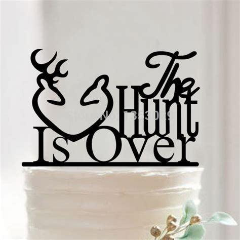 buck and buck discount coupon free shipping buck and doe cake topper the hunt is