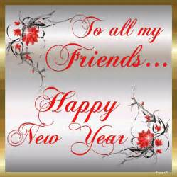 happy new year wishes messages in english for friends and