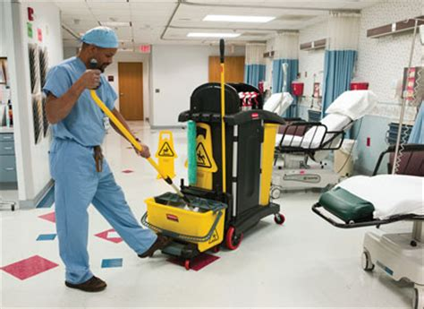 environmental surface cleaning and the spread of hospital