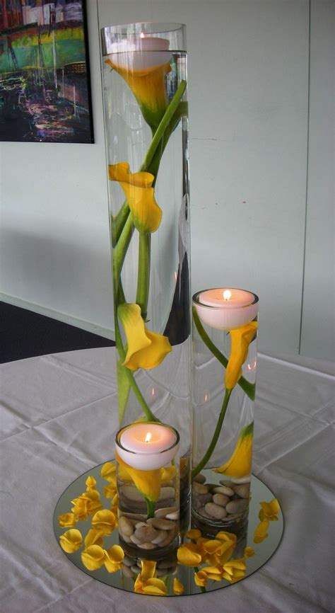 best 25 calla centerpieces ideas on