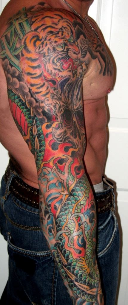 colored tribal sleeve tattoos tribal tattoos designs arm sleeve ideas for guys