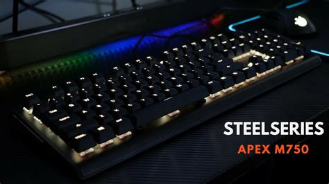 Sale Steelseries Apex M750 review gaming mechanical keyboard steelseries apex m750 product reviews how tos deals and