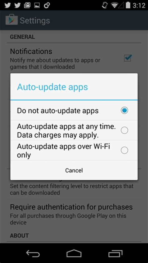 how do you update apps on android how to turn automatic app updates on android and