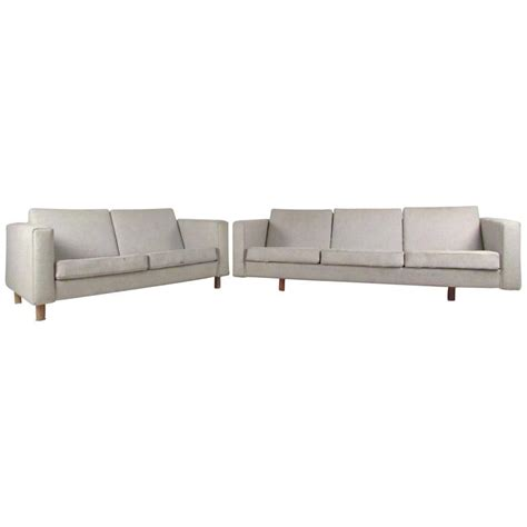 matching sofa and loveseat matching mid century modern sofa and loveseat by hans