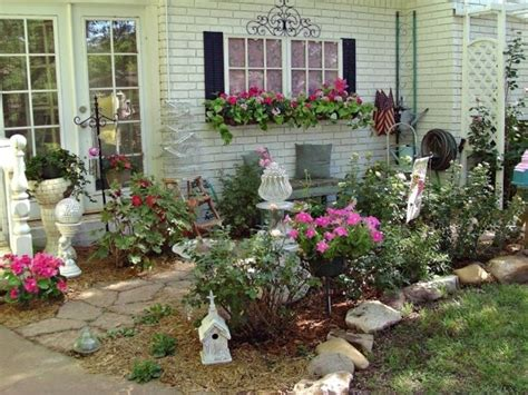Sch 246 Nheit Dekoration Im Garten Shabby Chic Gestaltung Und