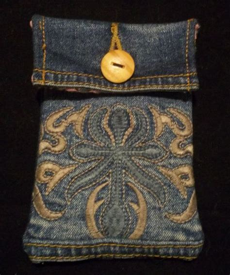 Ipod Cases Made From Recycled 45s by Iphone Pouch With Custom Order For Kittymariey