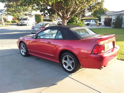 2000 mustang v8 purchase used 2000 mustang gt convertible v8 stick shift