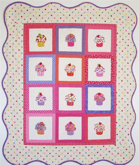 Cupcake Quilt by Confetti Cupcake Quilt