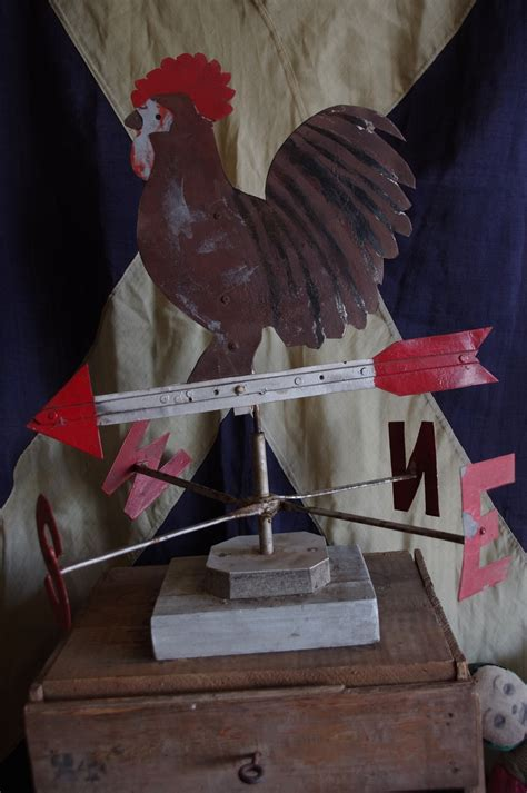tin vintage style rooster 4pc country primitive kitchen vintage weather vane rooster stalking cat antiques