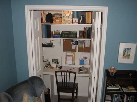 Built In Desk In Closet by Neil S Pond