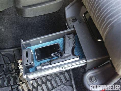 Jeep Safe Jeep Wrangler Seat Lock Box Gun Safes Cases