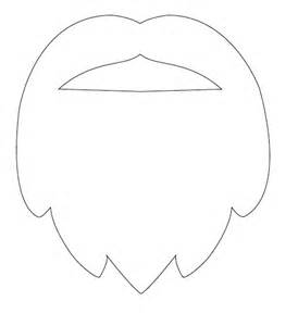 goatee template pics for gt santa beard template printable