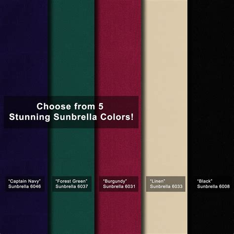 dometic awning colors sunbrella fabric by the yard outdoor fabrics 101 this old