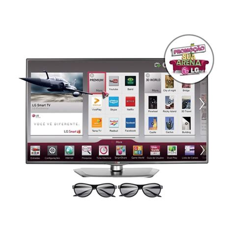 Tv Led Lg Usb tv 47 led 3d lg hd usb conversor digital