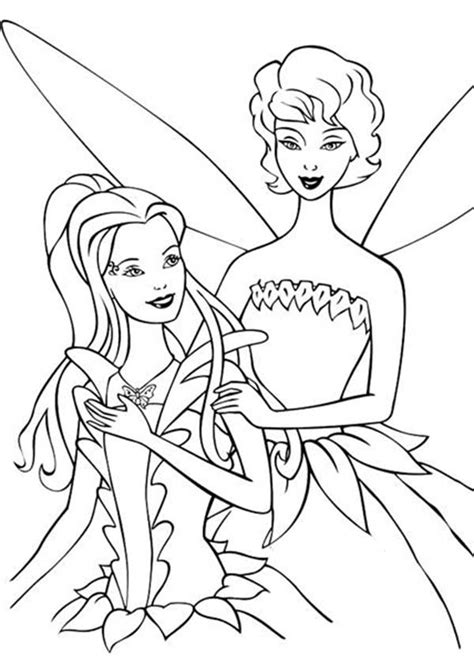 fairy dandelion chatting with barbie elina in barbie