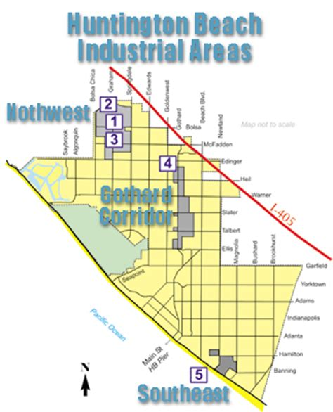 city of industry ca map city of huntington ca industrial projects