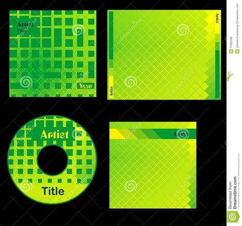 cover design cd free download cd cover green design stock illustration image of dark