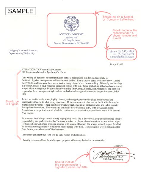 Recommendation Letter Chevening Sle Reference Letter For Chevening Scholarship Cover Letter Templates