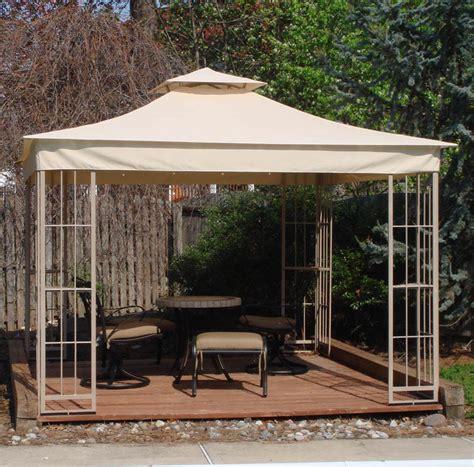 Garden Treasures Gazebo Accessories Lowes 10x10 Garden Treasures Gazebo Replacement Canopy S J