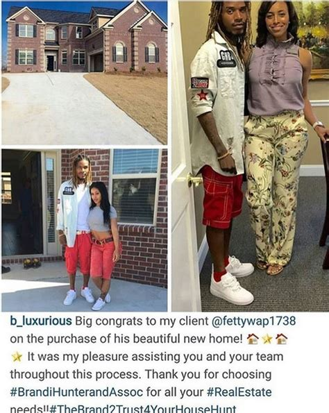 buying a house with a girlfriend fetty wap cops a new house with his girl alexis sky