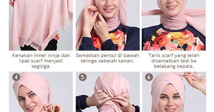tutorial segi empat velvet tutorial hijab scarf segi empat terbaru 2017