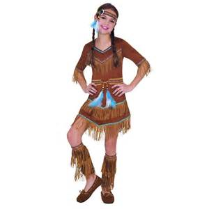 party city indian halloween costumes girls red indian tiger lily peter pan fancy dress up