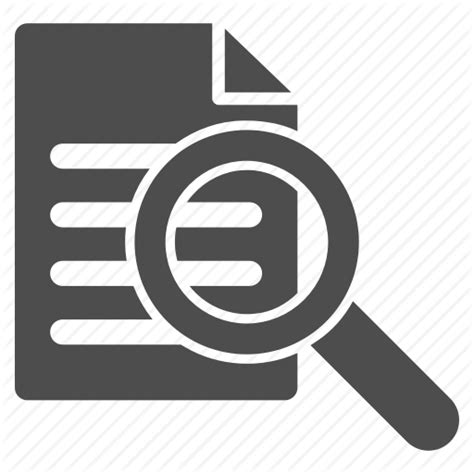 Search Report Audit Icon Images Search
