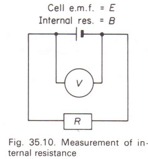 how to measure the resistance of a resistor to measure the resistance of a cell physics homework help physics assignments and