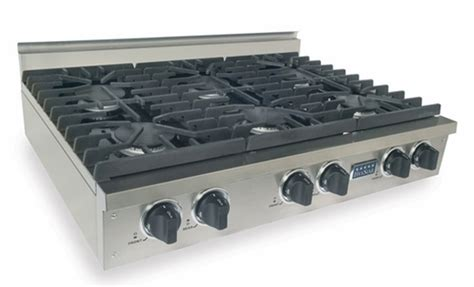 Oven Gas Naga ttn0317 five 36 gas pro cooktop with 6 sealed burners stainless steel