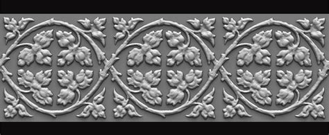 zbrush sculpt pattern juan hinojosa florid victorian ornament