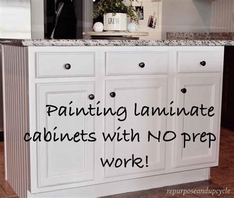 painting laminate cabinets     sanding