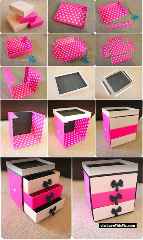 Handmade Home Decor Projects - diy box organizer pictures photos and images for