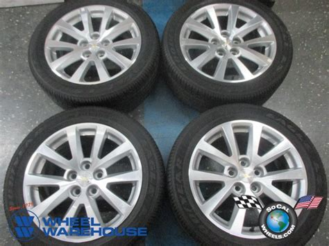 2013 chevy malibu tire size used 2013 2015 chevy malibu factory 18 wheels tires oem