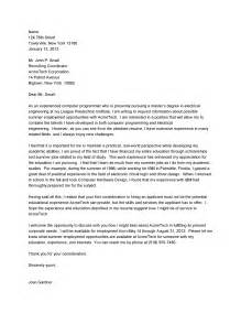 cover letter tips 10 sle cover letter for a mechanical engineer writing