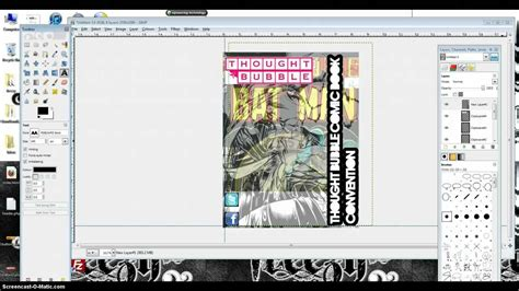 typography tutorial in gimp flyer design using gimp visual learner gimp tutorial