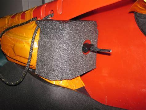 jackson kayak hip pad  footrest modification unsponsored