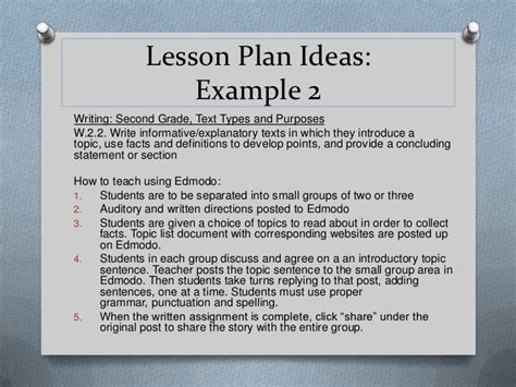 edmodo lesson plans edmodo for young learners presented by janet desenzo
