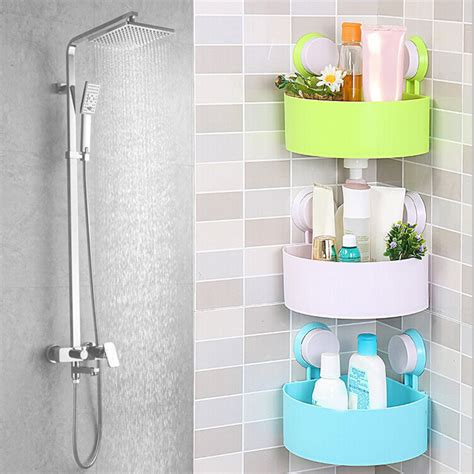 suction cups for bathroom bathroom corner shelves with suction cups