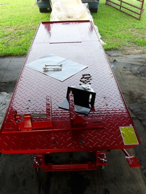 diy motorcycle lift stand plans  hardwood tools