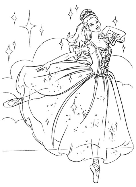 Princess Coloring Pages Color Page Princess
