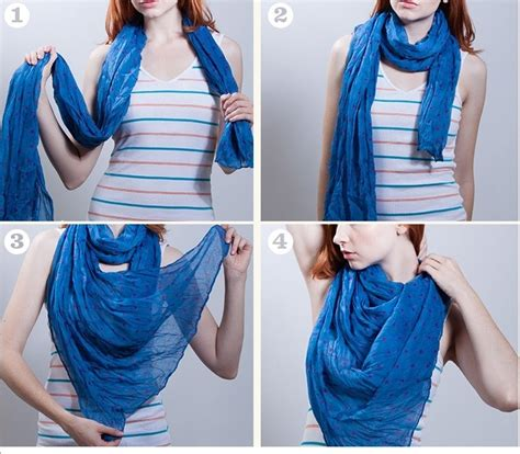how to drape a scarf around your neck 26 techniques about how to tie scarf around your neck