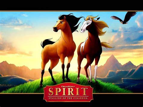 film cartoon spirit spirit and rain spirit stallion of the cimarron