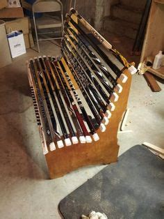 hockey stick bench project ideas on pinterest hockey sticks hockey and coat racks