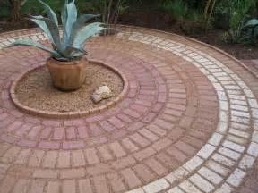 Laying A Circular Patio Brick Circular Patio Home Decor Landscaping