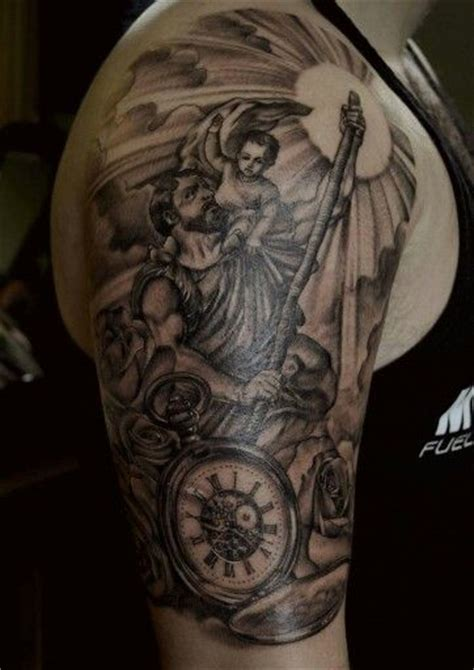 st christopher tattoo 1000 ideas about st christopher on
