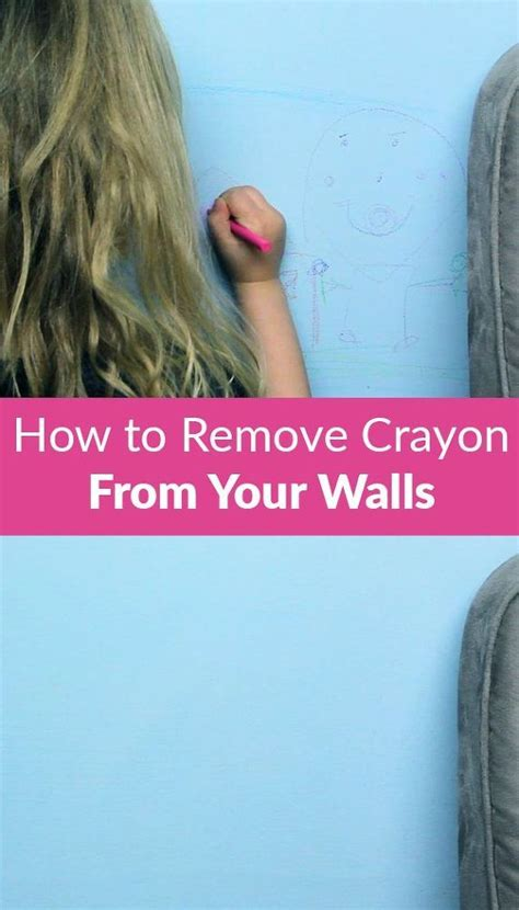 remove crayon from wall how to remove crayon from your walls cleaning helpful hints and cleaning hacks