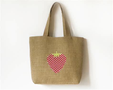 hessian tote bag pattern hessian shopping tote bag folksy
