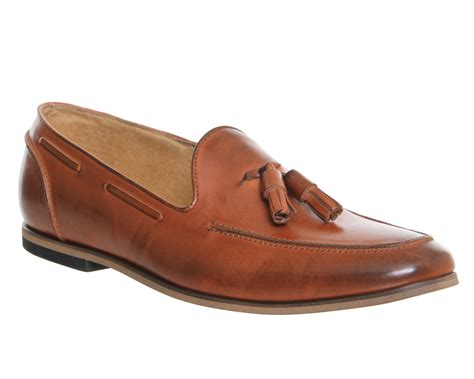ask the missus loafers mens ask the missus avocado tassel loafers cognac leather