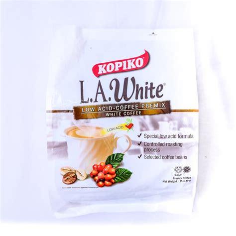 White Coffee Kopiko kopiko l a white coffee premix white coffee 15 x 40g mydin