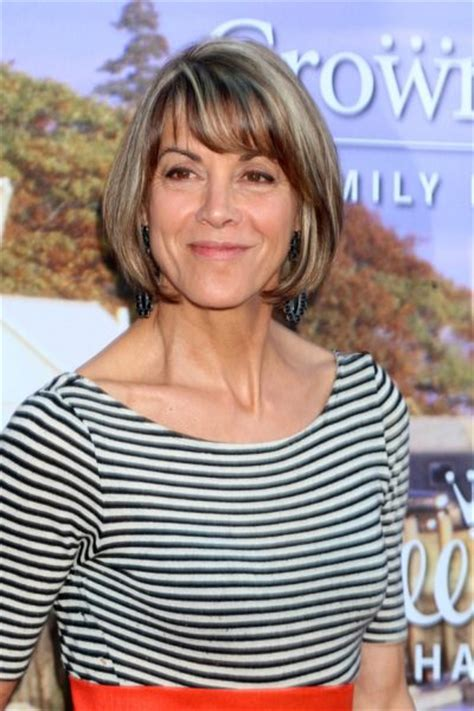 wendy malicks new shag haircut wendy malicks new haircut wendie malick 2015 pictures